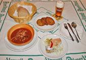 Restaurace Pod Smetánkou Menu 1.