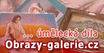 Obrazy - galerie úměleckých předmětů
