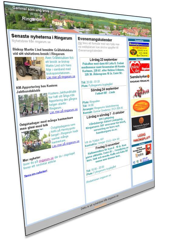 Vill  du ha ett nyhetsbrev när det finns ny information på Ringarums  webbplats,  klicka här!