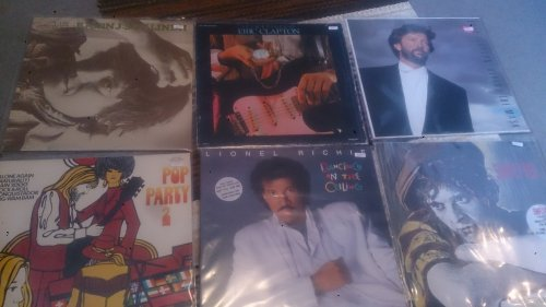 Eric Clapton, Simply Red, Lionel Richie. Björn J:son Lindh