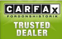 Som Carfax Trusted Dealer arbetar vi för öppenhet och säkerhet.