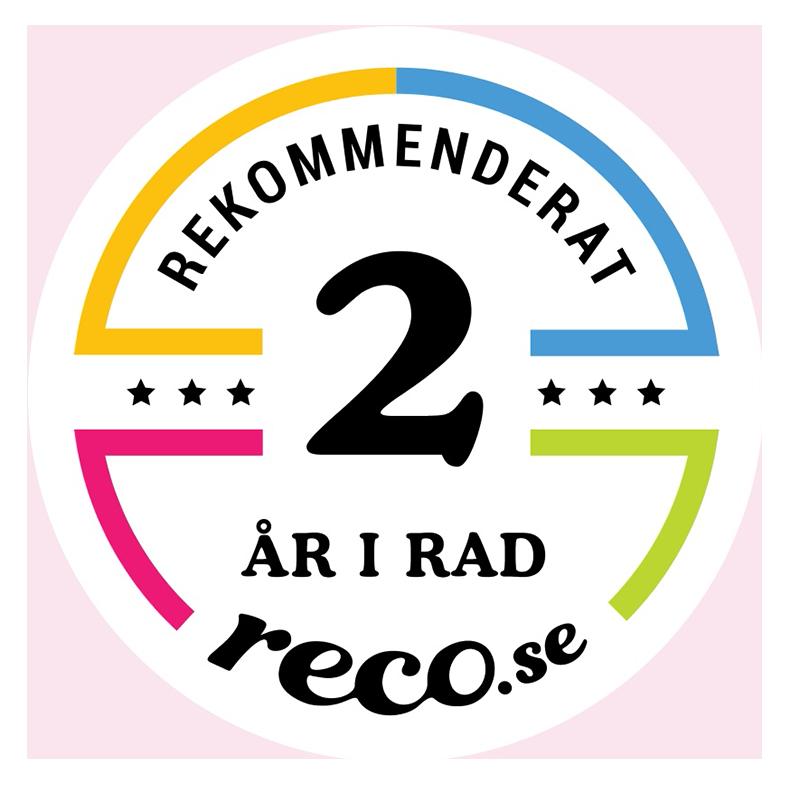 reco.se 2 år rekommenderad.