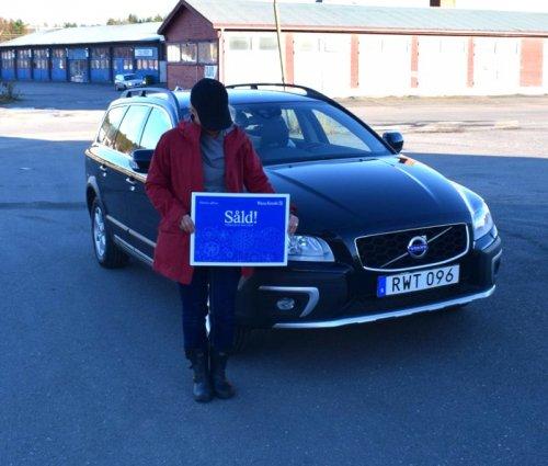 En av våra kunder har sålt bilen genom oss.
