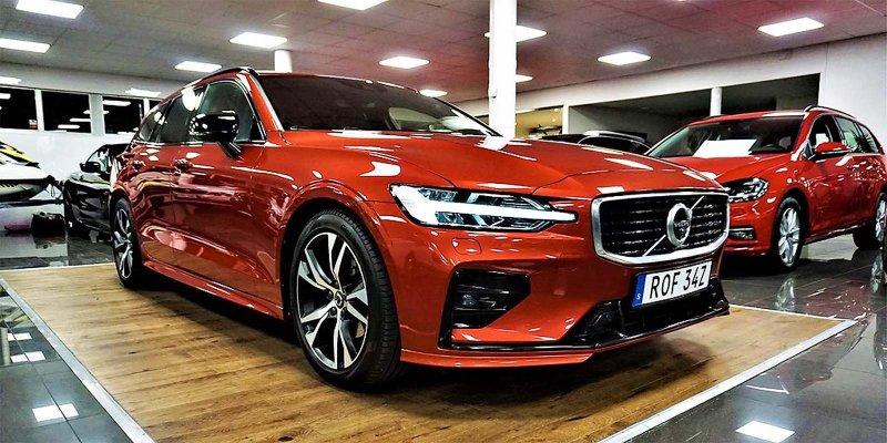 En av de bilar vi kan sälja i Karlskrona.