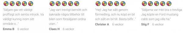 fina betyg från reco.se
