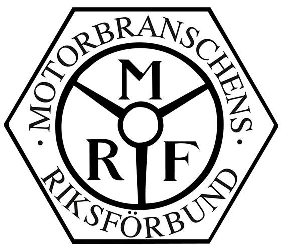 Vi är ansluta till MRF, Motorbranschens Riksförbund.