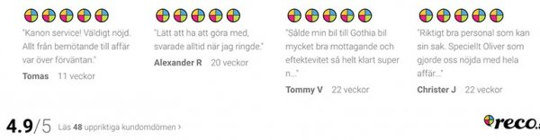 Läs alla våra referenser på reco.se.