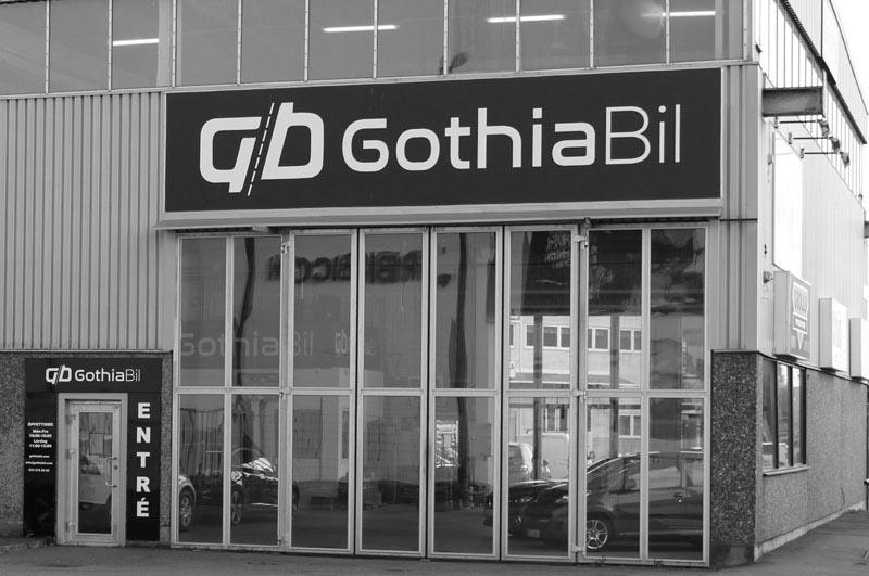 Gothia Bils lokaler för dig som vill sälja bil i Varberg.