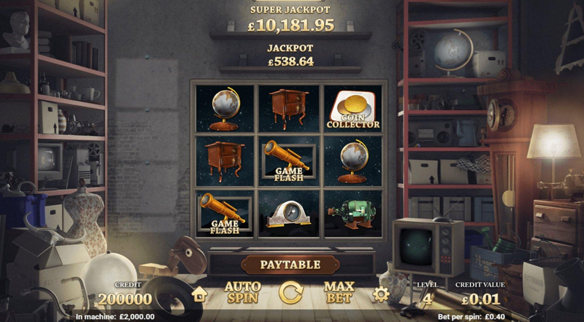 Prøv Auction day spillemaskine