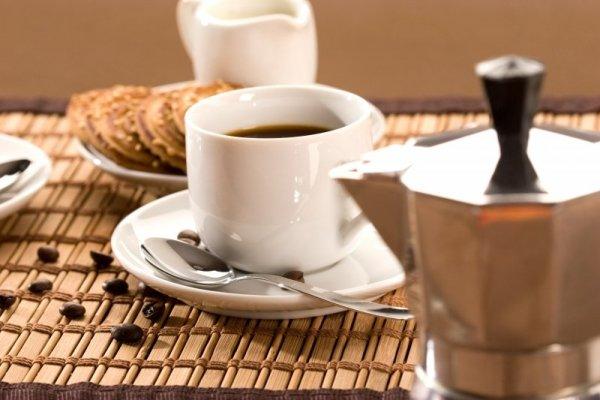 kaffe och kaffebryggare