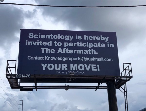 Scientology is hereby Invited to the Aftermath