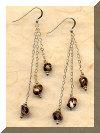Stilleto Sea Shell Earrings