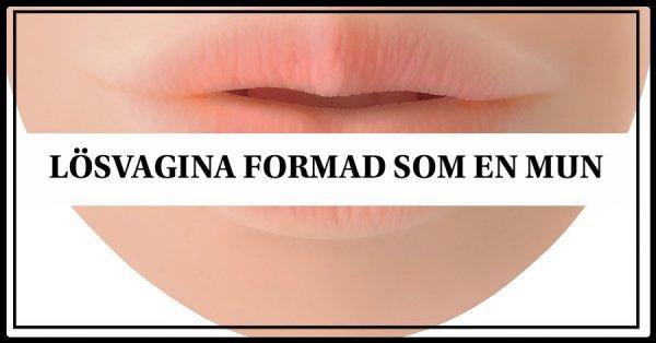 Lösvagina för dig som gillar oralsex.