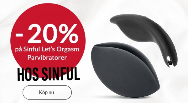 Sinful Let´s Orgasm parvibrator