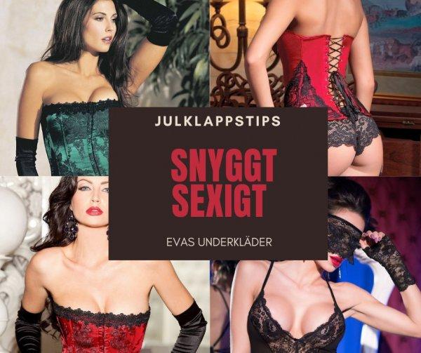 Köp sexiga underkläder i julklapp.