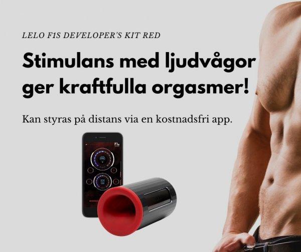 Bra sexleksak för män - F1s Developers kit red.