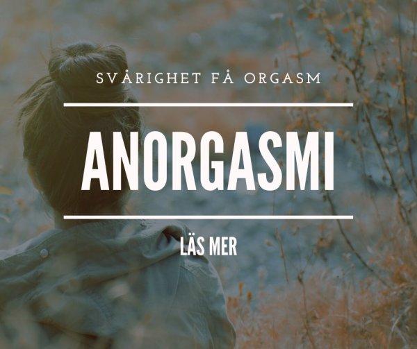 Anorgasmi