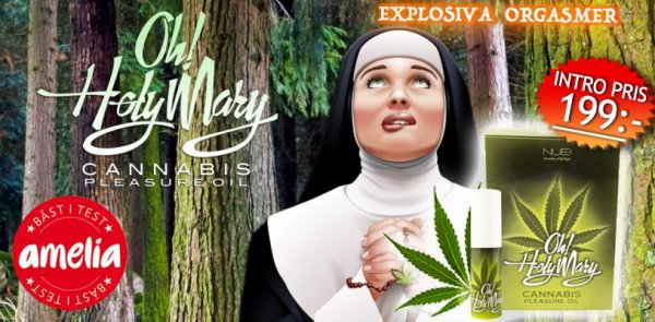 Oh Holy Mary Pleasure Oil