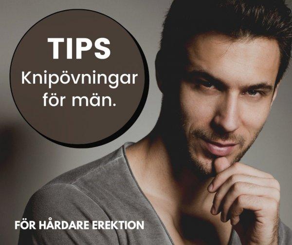 Knipövningar för män.