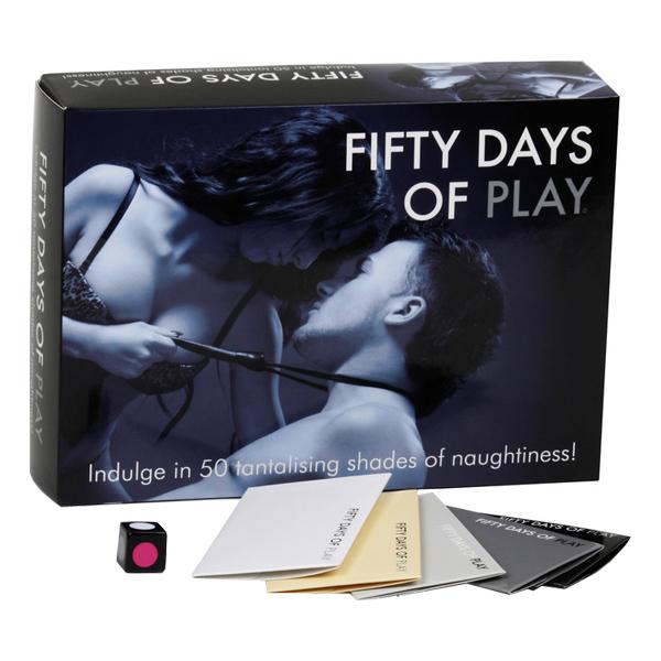 Erotisk spel från Fify Shades of Grey.