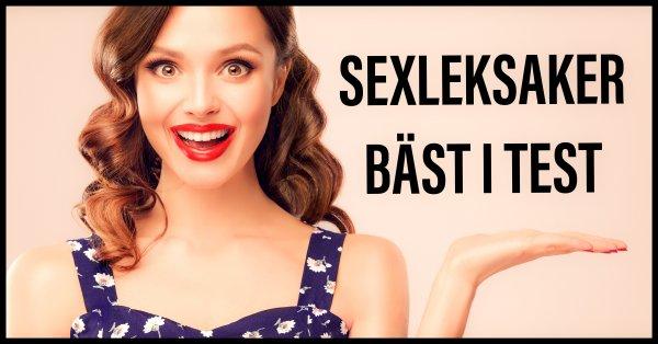 Sexleksaker bäst i test.