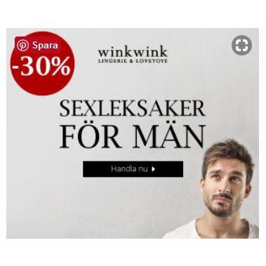 Köp sexleksaker hos Winkwink.