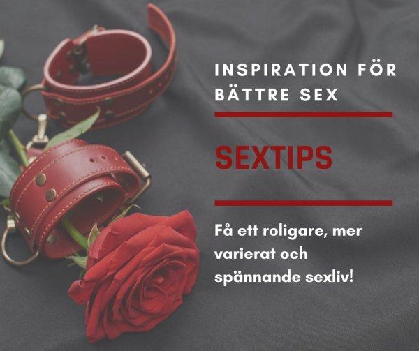 Få inspiration för bättre sex.