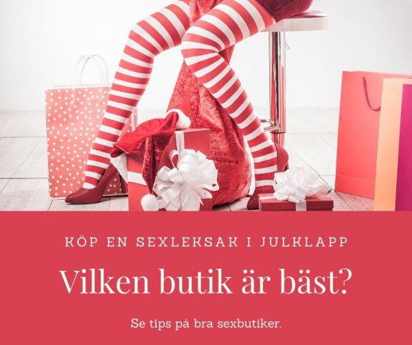 Köp en sexleksak i julklapp.