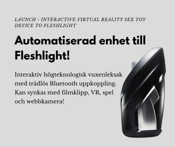 Bra sexleksak för män - Fleshlight Launch