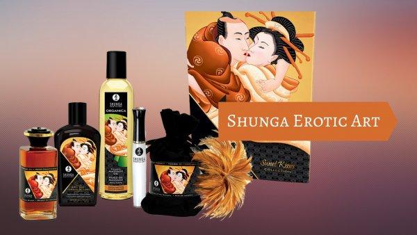 Ge skön massage med produkter från Shunga.