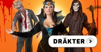 Köp prisvärda maskeraddräkter hos Partykungen