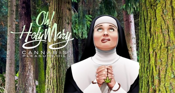 Oh! Holy Mary Pleasure oil