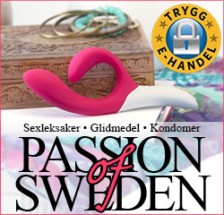 Sexbutiken Passion of Sweden