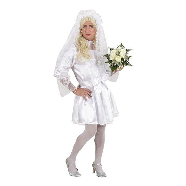Köp en maskeraddräkt till den blivande brudgummen på svensexan.