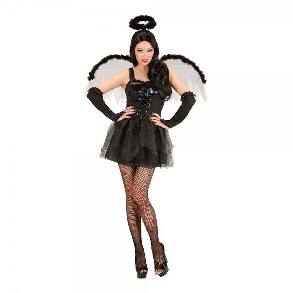 Sexig svart ängel