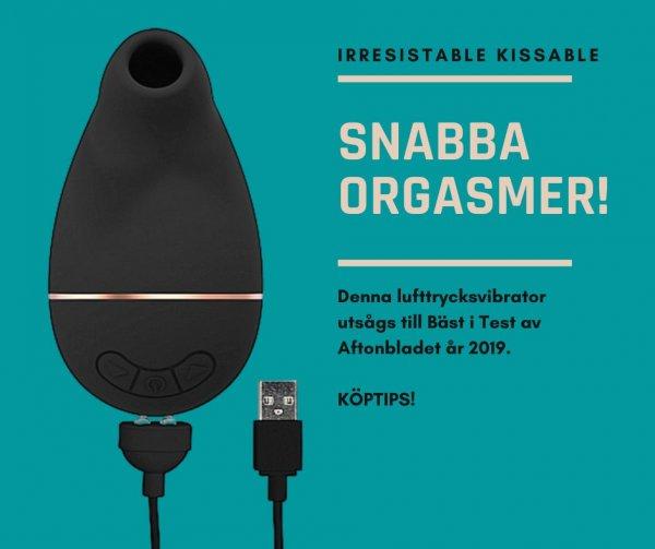 Lufttrycksvibrator Kissable