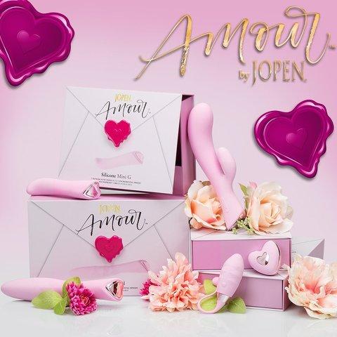 Tystlåtna och romantiska Sexleksaker från Amour by Jopen
