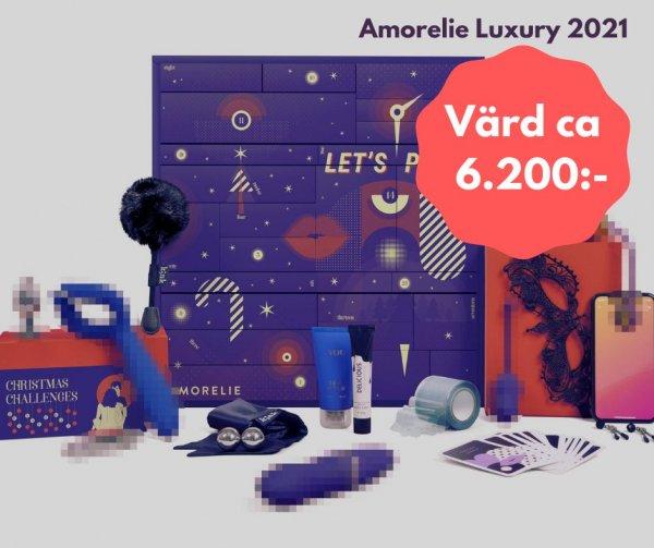 Amorelie Luxary erotisk kalender 2021.