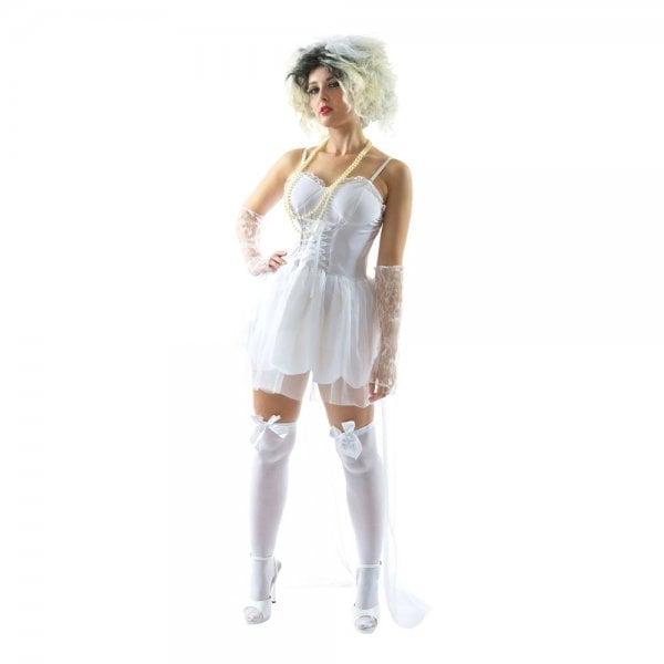 Klä ut den blivande bruden till en 80-tals popbrud.