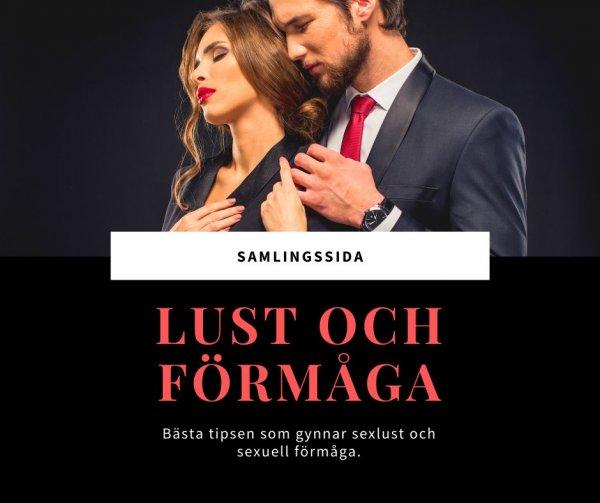 Samlingssida - Allt om sexlust och sexuell förmåga.