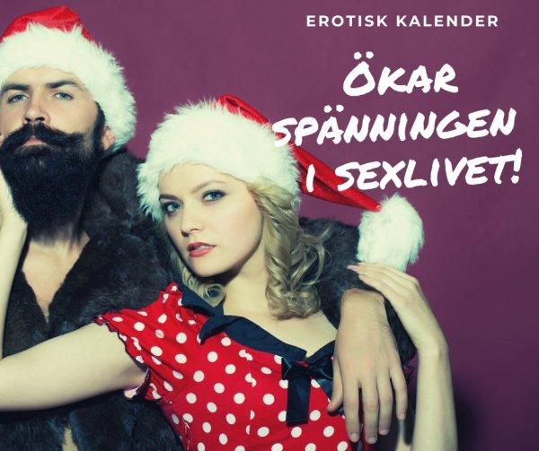 Julkalender med sexleksaker