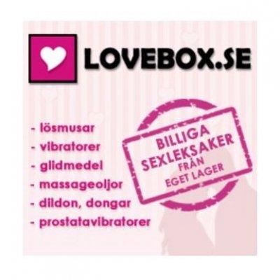 Köp sexleksaker hos Lovebox.