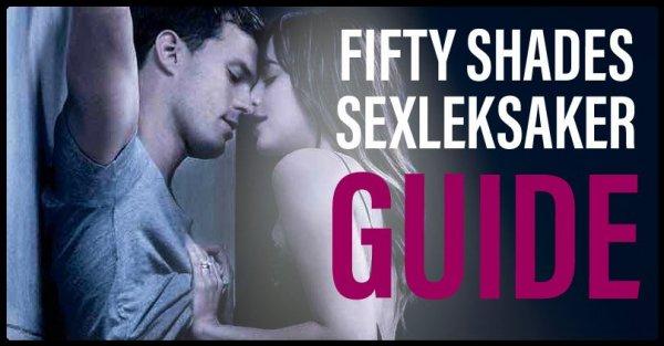 Sexleksaker Fifty Shades.