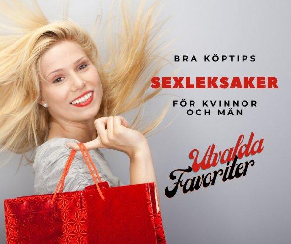 Utvalda bästsäljande sexleksaker.
