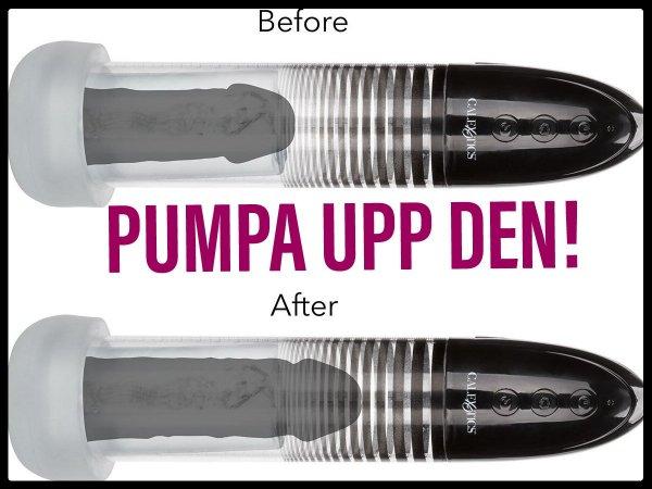 Få större och hårdare erektion med en potenspump.