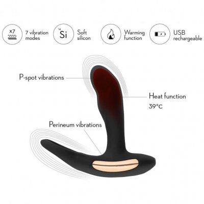 Tips på bra prostatastav med vibrationer och värmefunktion.