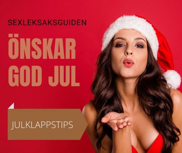 Sexleksaksguiden tipsar om sexiga julklappar.