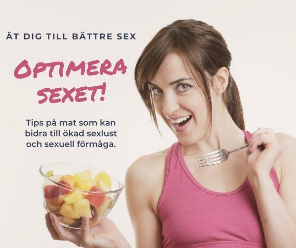 Tips på mat som är bra för sexlivet och ökar sexlusten.