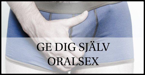 Oralsex män.