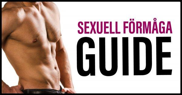 Guide sexuell förmåga.